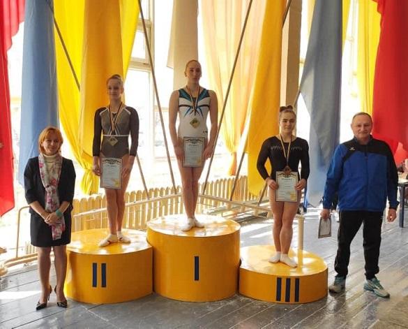 Черкаські спортсменки отримали нагороди на Чемпіонаті України з гімнастики