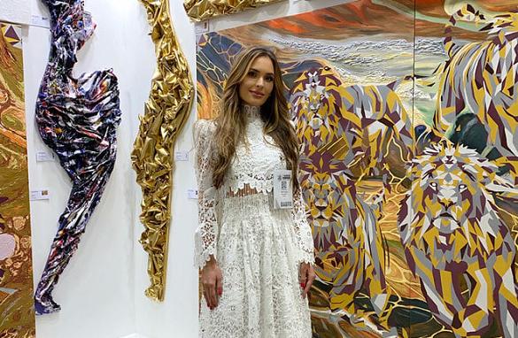 Черкащанка представила Україну на світовому арт-форумі в Дубаї