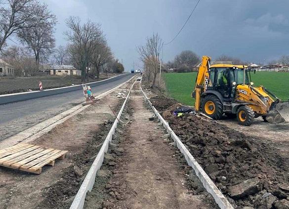 Чотири кілометри дороги відремонтували на міжнародній трасі Черкащини (ФОТО)