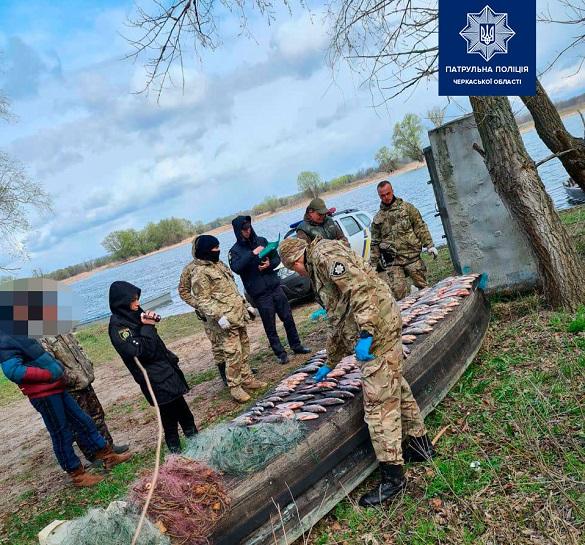На Черкащині браконьєри завдали збитків майже на 30 тисяч гривень (ФОТО)