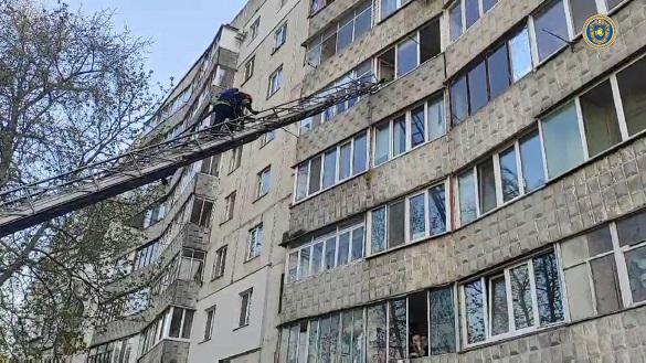 У Черкасах двічі горіла одна і та ж квартира, є постраждала
