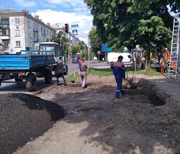 У Черкасах облаштують нову зупинку громадського транспорту (ФОТО)