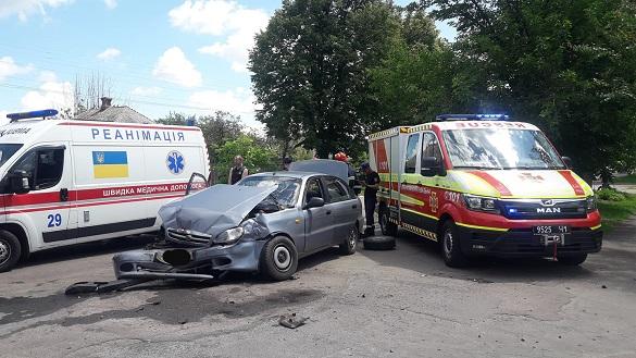 На Черкащині сталася ДТП: четверо осіб отримали травми