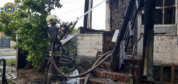Під час пожежі на Черкащині травмувалася пенсіонерка