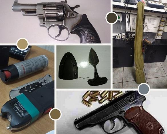 На Черкащині до суду відвідувачі прийшли з револьвером та мисливською рушницею