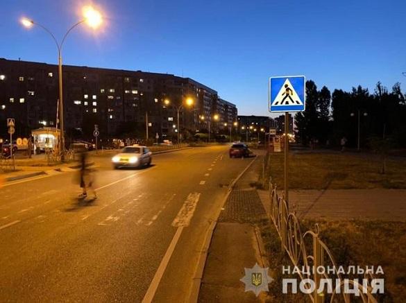 У Черкасах водій на пішохідному переході збив пенсіонерку (ФОТО)