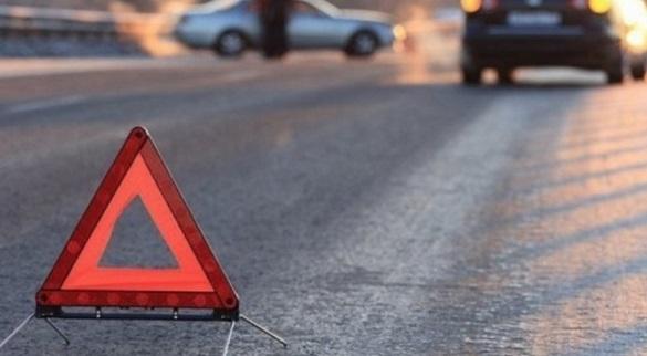 У Черкасах сталася аварія: зіштовнулись два автомобілі