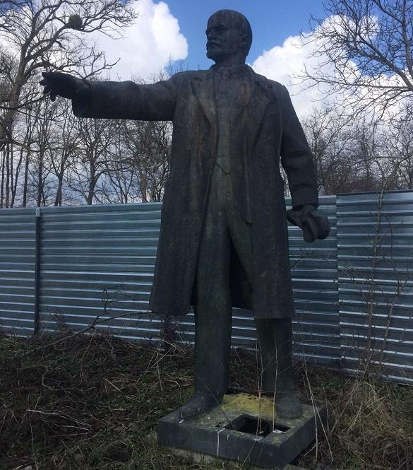 Із Черкащини поїде в Донецьку область: пам'ятник Леніну продали на аукціоні