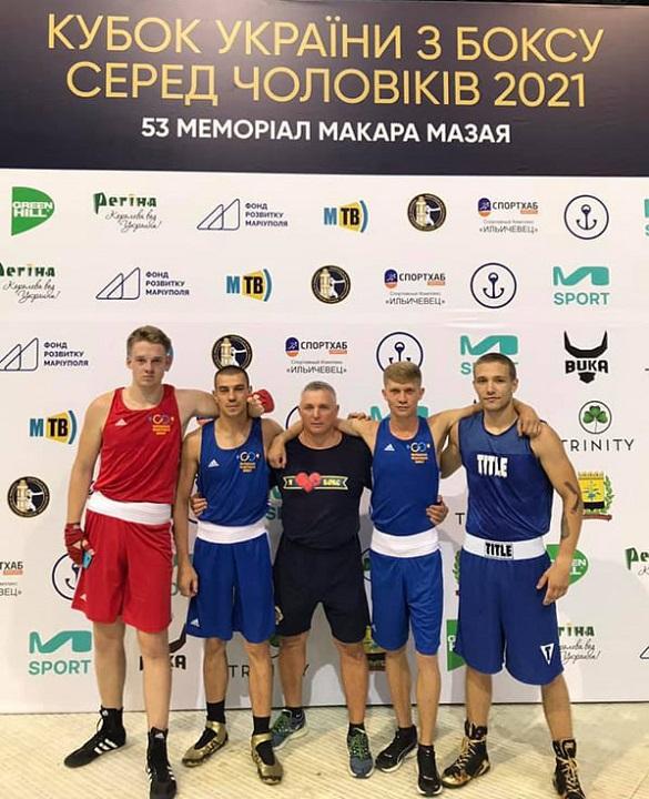 Боксери Черкащини стали призерами Кубку України