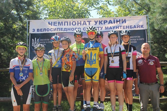 Черкаські велосипедистки – у трійці кращих на двох чемпіонатах України