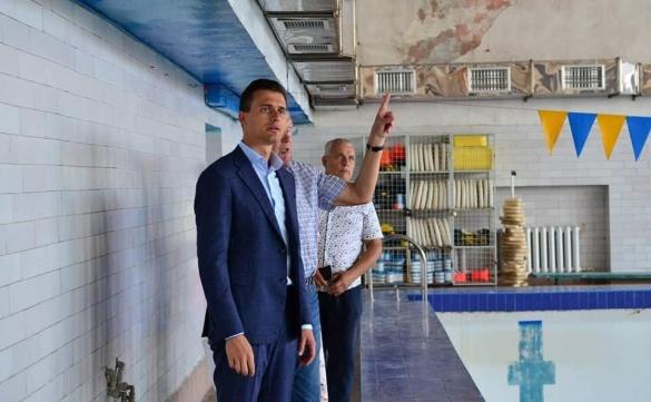 У Черкасах вперше за 60 років капітально відремонтують басейн