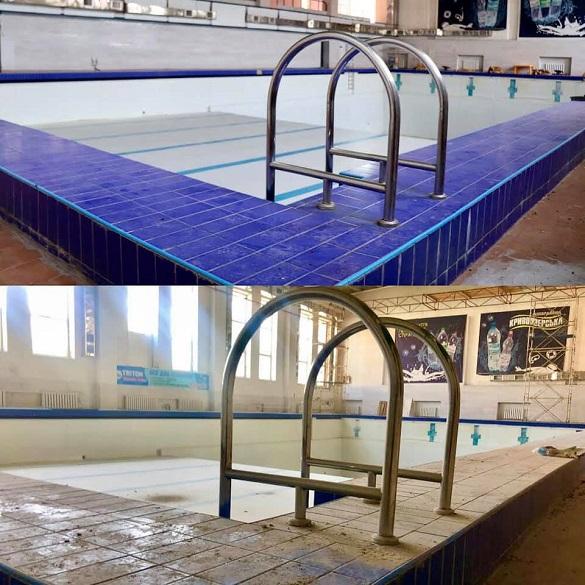 У Черкасах вже почали ремонт спортивного комплексу із басейном (ФОТО)