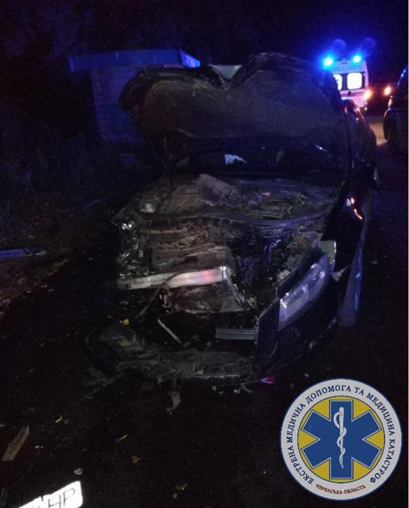 Смертельна ДТП на Черкащині: зіштовхнулися авто та мотоблок (ФОТО)
