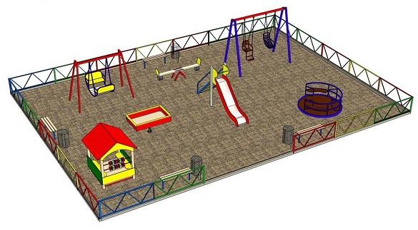 До кінця жовтня в одному з черкаських парків планують встановити інклюзивний майданчик