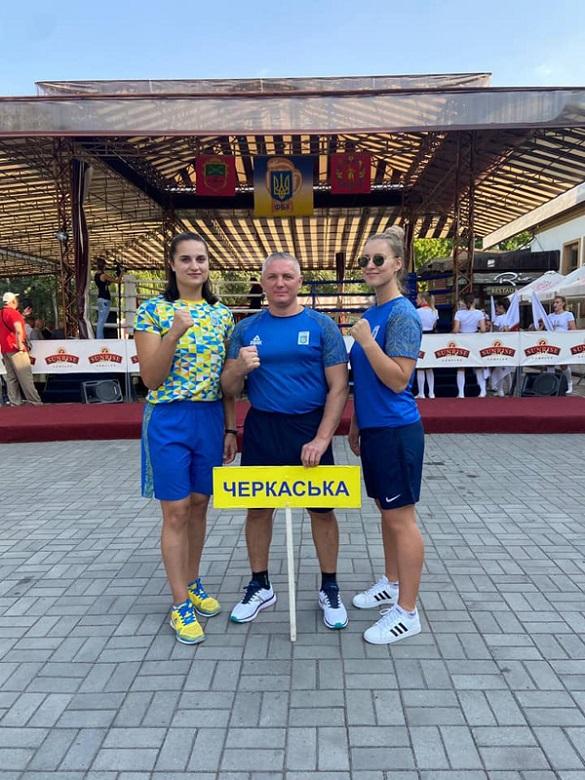 Черкаські спортсменки серед кращих в Україні (ФОТО)