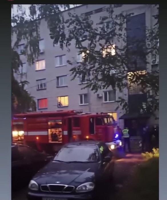 Вчора в Черкасах сталася пожежа у гуртожитку