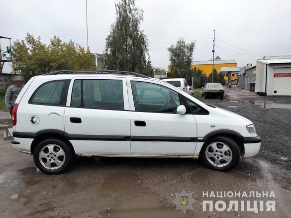 На Черкащині чоловік викрав автомобіль знайомого