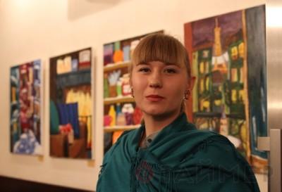 Художниця-самоучка з Черкащини проводить виставку в Одесі