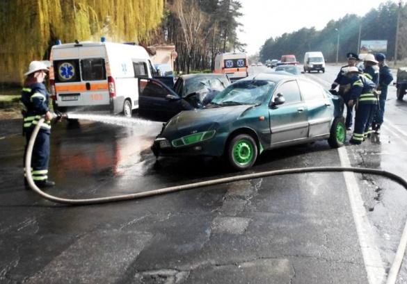 Чергова жахлива ДТП сталася на Черкащині (ВІДЕО)