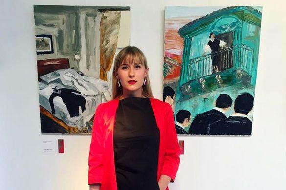 Художниця з Черкащини вдруге отримала світове визнання (ФОТО)