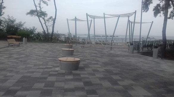 Відкриття оглядового майданчика у черкаському парку перенесли