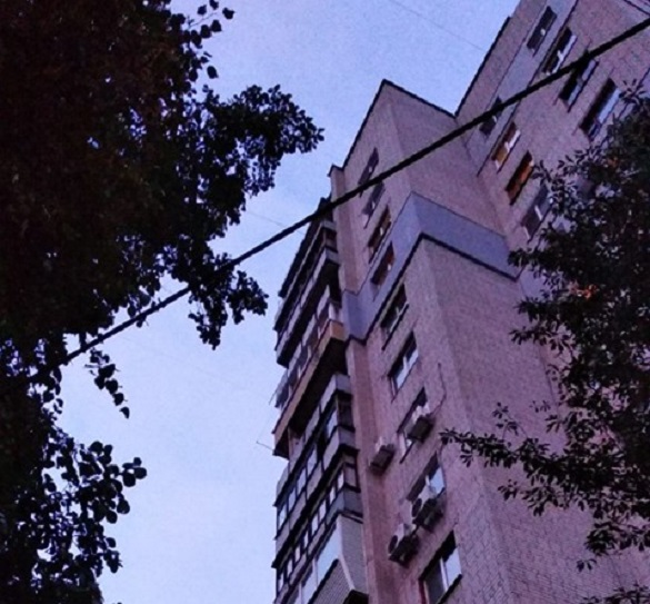 У черкаській багатоповерхівці горіла квартира (ФОТО)
