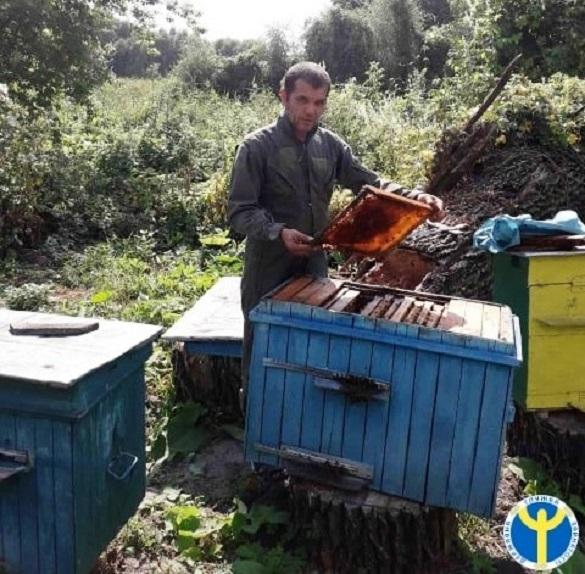 АТОвець із Черкащини обрав справою життя бджолярство