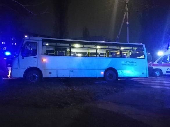 У Черкасах сталася ДТП за участі маршрутки (ФОТО)