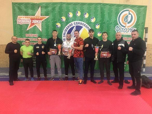 Черкащани привезли три нагороди Кубку України