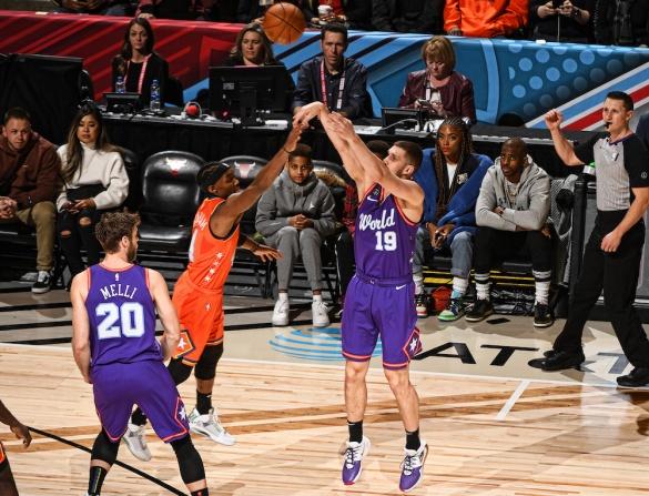 Черкаський баскетболіст зіграв у матчі всіх зірок НБА