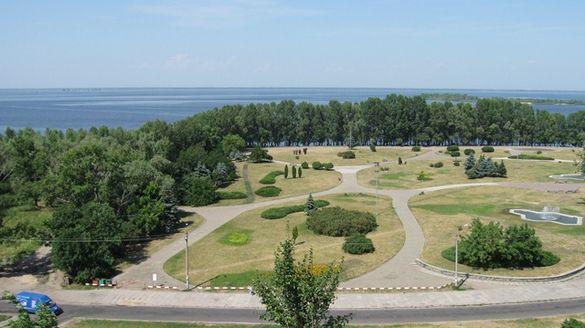У Черкасах на набережній планують створити паркову зону