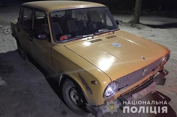 З території домоволодіння на Черкащині викрали автомобіль (ФОТО)