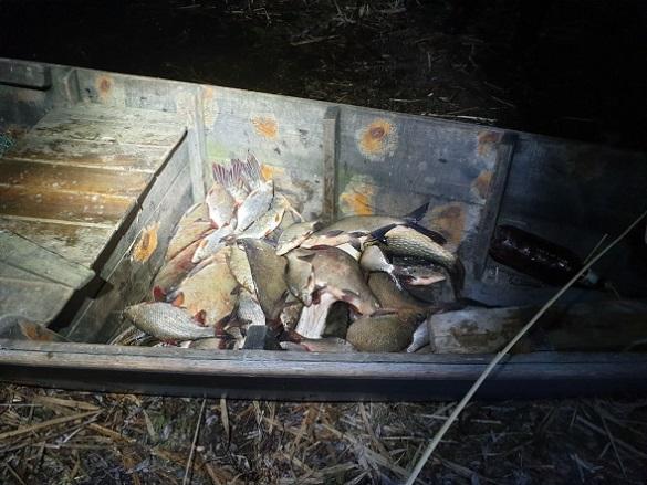 Сорок кілограмів риби незаконно виловили браконьєри на Черкащині (ФОТО)