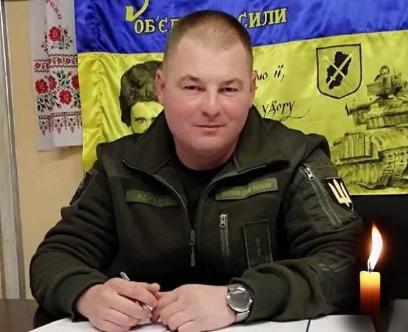 Орденом Богдана Хмельницького посмертно нагородили полковника з Черкащини