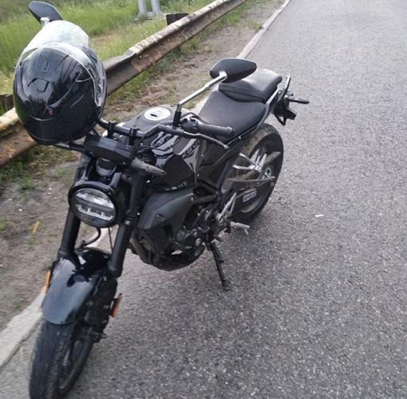 У Черкасах зупинили нетверезого мотоцикліста (ФОТО)
