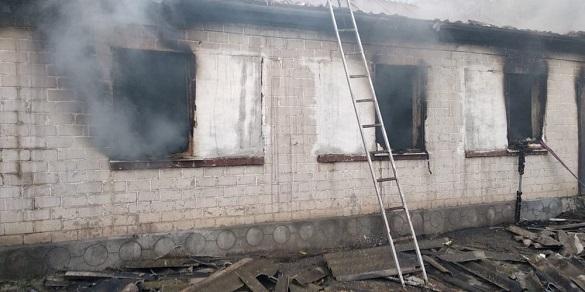 Через коротке замикання електрики на Черкащині горіло два будинки (ФОТО)