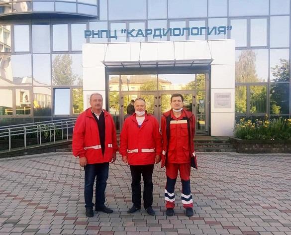 Черкаські медики супроводжували 16-річного хлопця на трансплантацію серця до Білорусі (ФОТО)