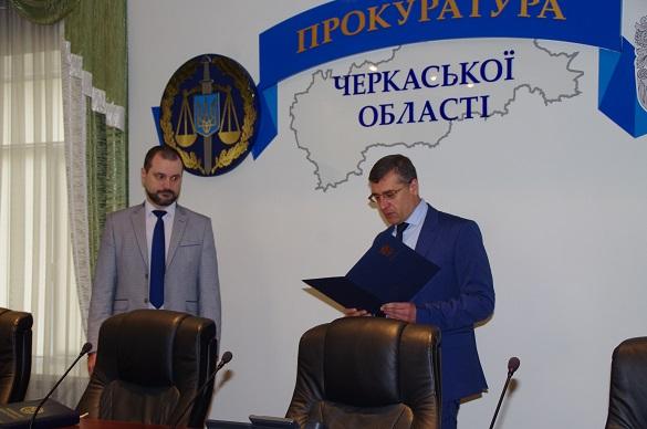 У прокурора Черкаської області з'явився новий заступник (ФОТО)