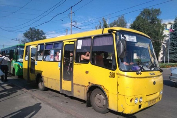 У Черкасах продовжують висаджувати із маршруток учасників АТО та членів їх родин