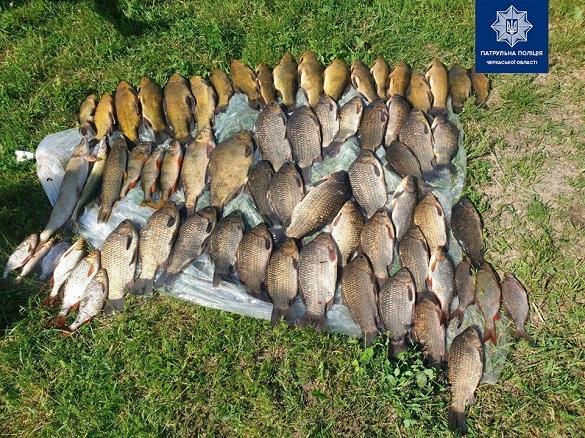 На території заказника у Черкаській області затримали браконьєрів (ФОТО)