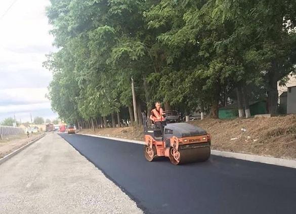 Одну із доріг капітально відремонтували на Черкащині (ФОТО)