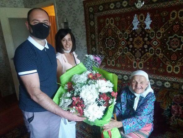 У Черкасах бабуся відсвяткувала 105-ий День народження