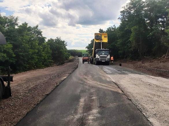 Ще одну дорогу ремонтують на Черкащині (ФОТО)