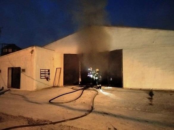 Птахофабрика загорілася на Черкащині (ФОТО)