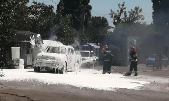 На заправці в Черкасах ледь не вибухнув автомобіль (ФОТО)