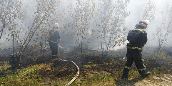 Через необережне поводження з вогнем на Черкащині шість разів горіла трава та сміття (ФОТО)