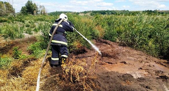 Аеророзвідка на Черкащині виявила загорання торф'яників (ФОТО)