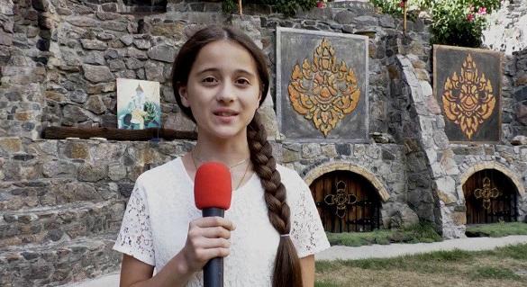 Юна черкащанка бере участь у відеоконкурсі (ВІДЕО)